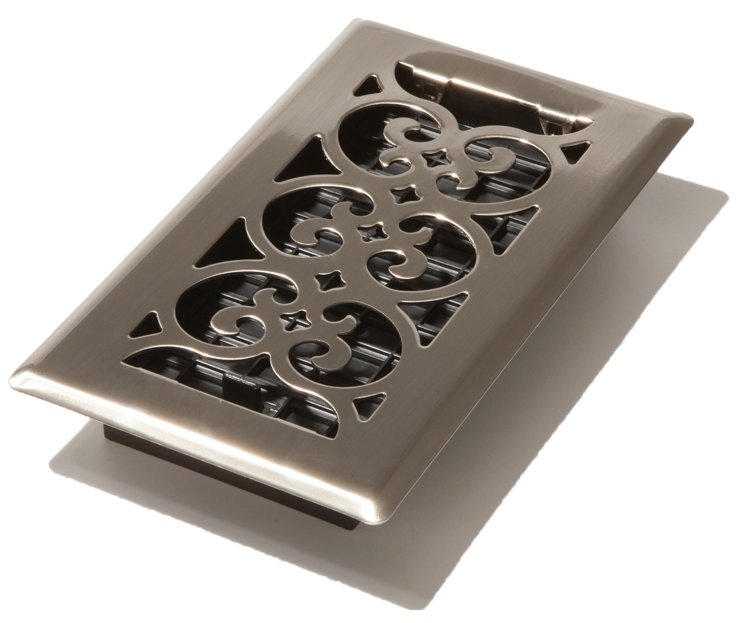 Brushed Nickel 4 X 8 Plated Steel